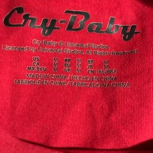 Johnny Depp Cry-Baby T-shirt from Forever 21